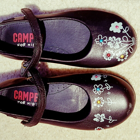 Camper Other - CAMPER girls mary jane shoes size 28